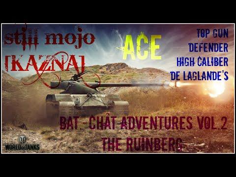 WOT - Bat-Chatillon 25T, High Cal., Top Gun, Defender  - 6.7k Dmg by still_mojo [KAZNA]
