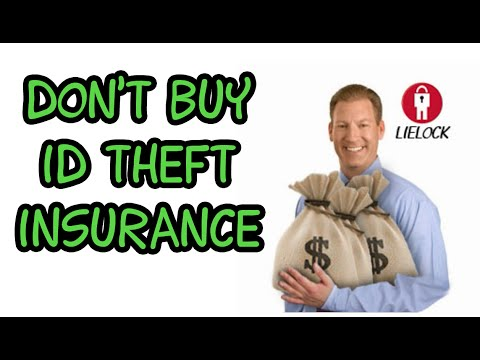 Don't Buy Identity Theft Insurance