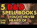 The 5 Best DnD Spell Books You've Never Heard Of
