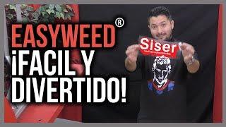 EasyWeed® Facil y divertido! Siser con sabor latino! (Vinil textil termo transferible)