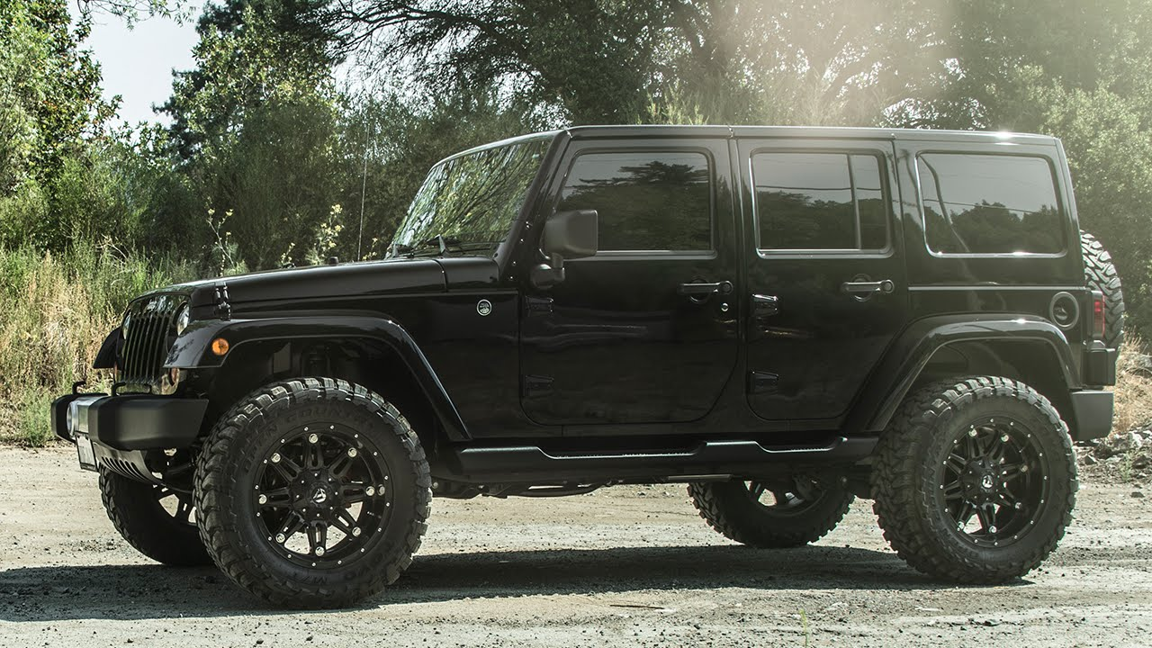 Jeep Wrangler Sahara On Fuel Hostage Wheels By California