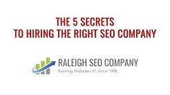 Raleigh SEO Company | Search Engine Optimization Experts