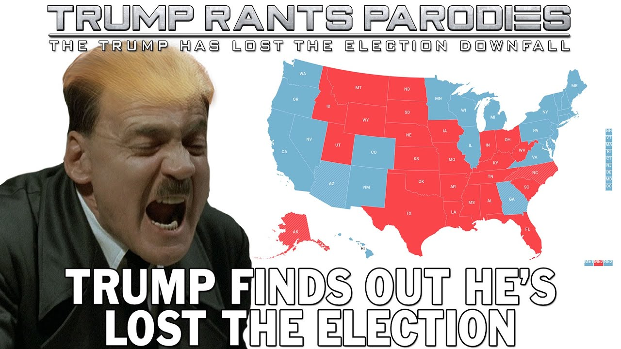 Trump finds out he's lost the election