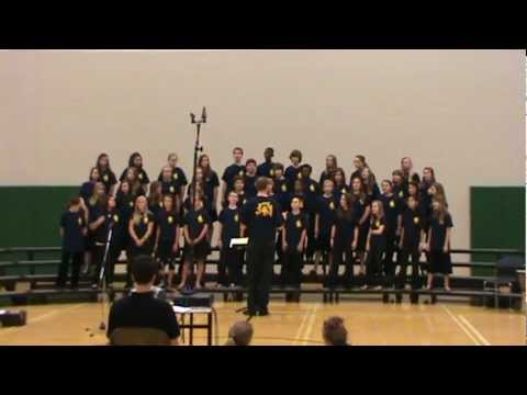 """We Need A Word"" by the 2010 Catonsville Middle School Festival Choir"