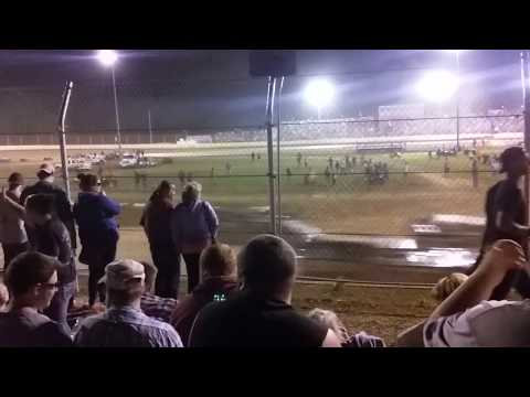 Florence Speedway 2017 Late Model Feature Start