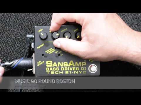 Tech 21 Sans Amp Bass Driver DI - Music Go Round Boston