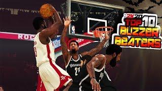 NBA 2K20 Top 10 BUZZER BEATERS & Game Winning SHOTS #5