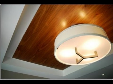 видео: Оформление потолка своими руками.