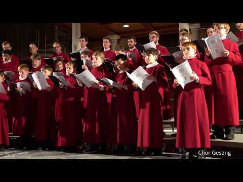 """The Choir of New College Oxford """"Oh Shenandoah"""" Traditional (USA Tour 2017)"""
