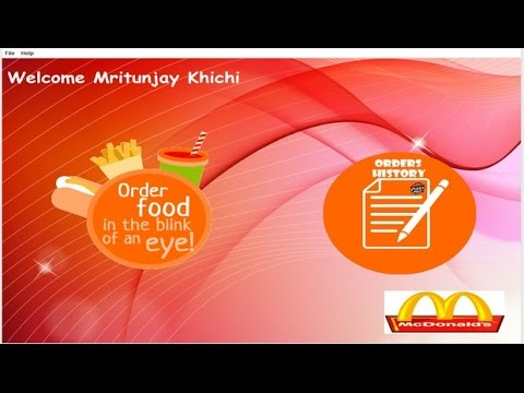 Restaurant Management System - CBSE ip Project for Class 12 (Java Netbeans  and MySql)