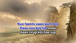 KZ Chue - Tug Hlub Nyob Twg (Girl) Karaoke