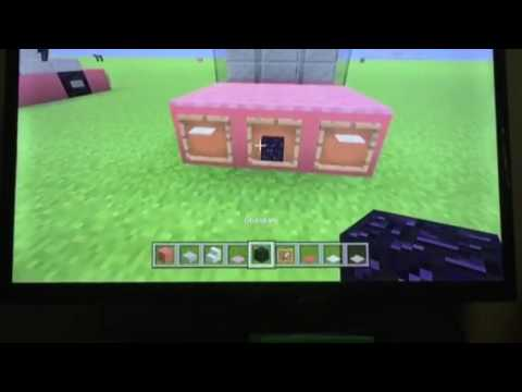how to make a pink bugatti veyron minecraft tutorial. Black Bedroom Furniture Sets. Home Design Ideas