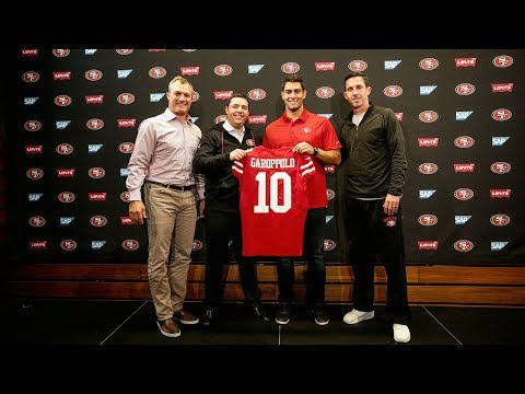 49ers QB Jimmy Garoppolo's Full Introductory Press Conference