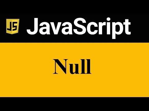 Null In JavaScript (Hindi)
