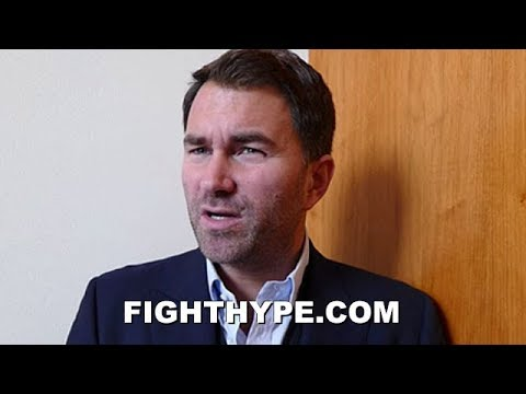 """EDDIE HEARN REACTS TO AMIR KHAN CLAIMING KELL BROOK IS GAY; GIVES FIGHT UPDATE: """"GONNA GET WORSE"""""""