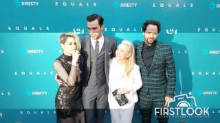 Kristen Stewart and Nicholas Hoult at the Equals Premiere in Los Angeles