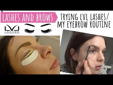 df789152b2e EYELASHES & BROWS / TRYING LVL NOUVEAU LASH LIFT, BEFORE & AFTER EYELASHES  / EYEBROW MAKEUP ROUTINE - YouTube