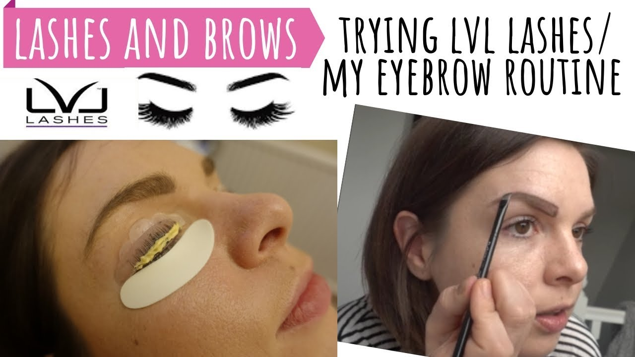 a896240336e EYELASHES & BROWS / TRYING LVL NOUVEAU LASH LIFT, BEFORE & AFTER EYELASHES  / EYEBROW MAKEUP ROUTINE