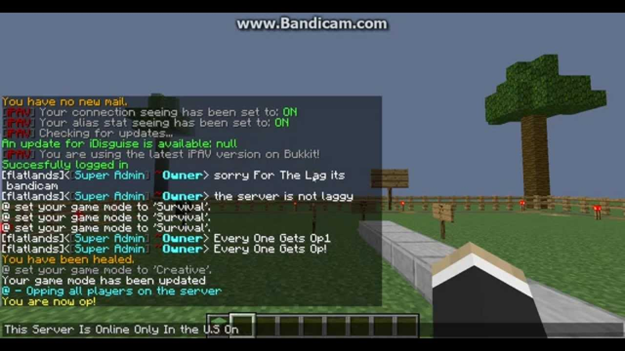 how to find my own minecraft server ip