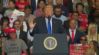 President Trump To Hold Rally In W.Va. On Saturday