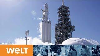 "SpaceX ""Falcon Heavy"": So schießt Elon Musk seinen Tesla-Roadster ins All"