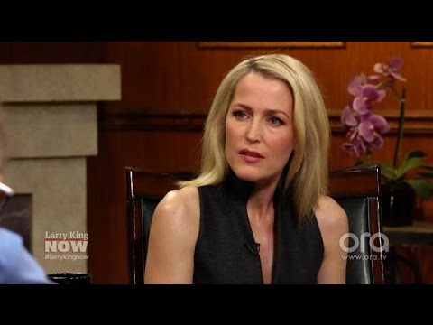 Gillian Anderson: It Was Complicated with David Duchovny | Larry King Now | Ora.TV