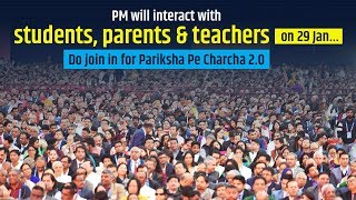 PM will interact with students, parents & teachers on 29 JanтАжDo join in for Pariksha Pe Charcha 2.0