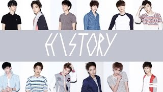 EXO - History (EASY Lyrics)