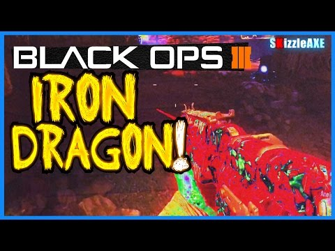 Der Eisendrache Zombies Gameplay 'The Iron Dragon' (Black Ops 3 Zombies NEW DLC Map Gameplay)