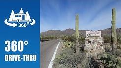 Camping at Gilbert Ray Campground in Tucson, AZ - 360° Drive-thru