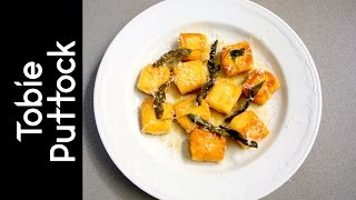 Ricotta Gnocchi With Nutty Sage Butter
