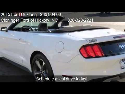 2015 ford mustang ecoboost premium 2dr convertible for sale   youtube