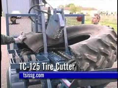 Tc 125 Tire Cutter