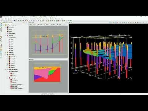 3D Geological modelling Training