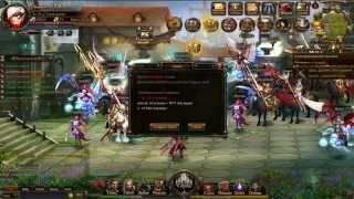 Браузерная онлайн игра Легенда Рыцаря - Обзор