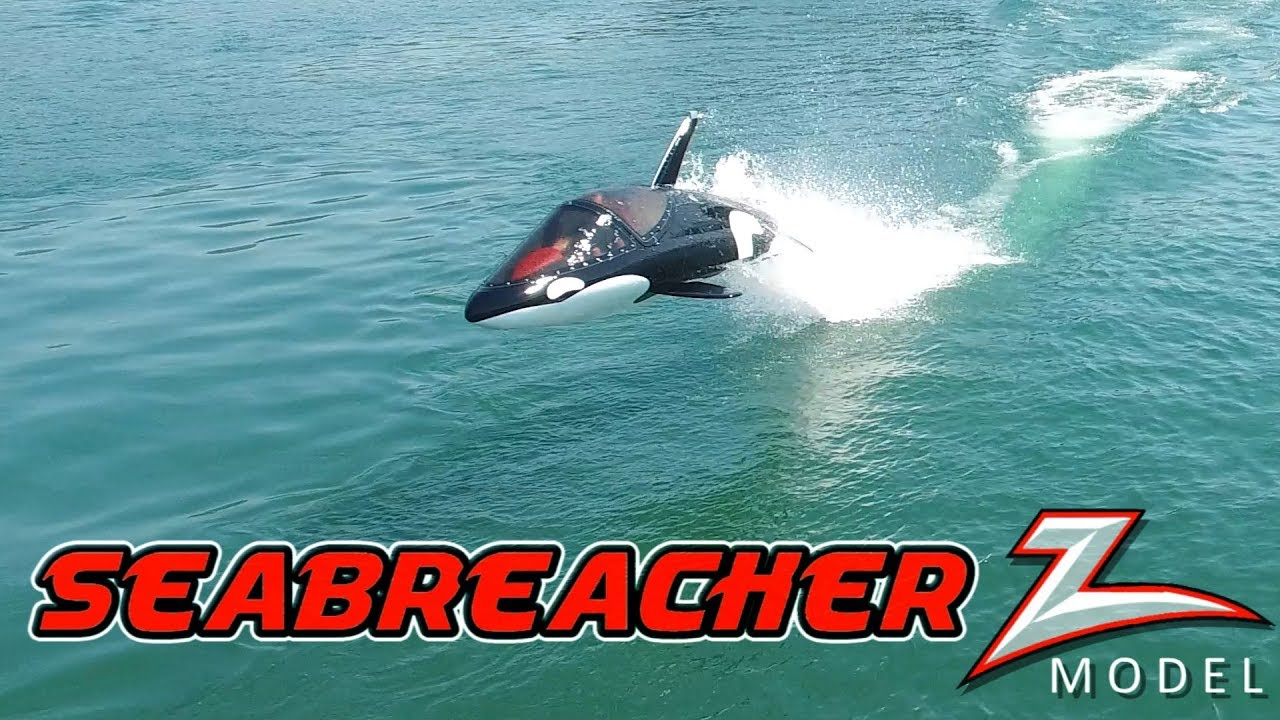 Seabreacher recreational jet watercraft - Future is here now