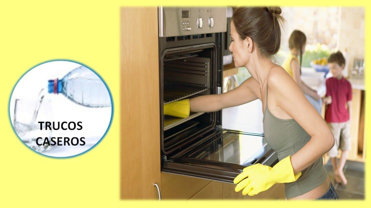 Como limpiar el horno con vinagre y bicarbonato de soda