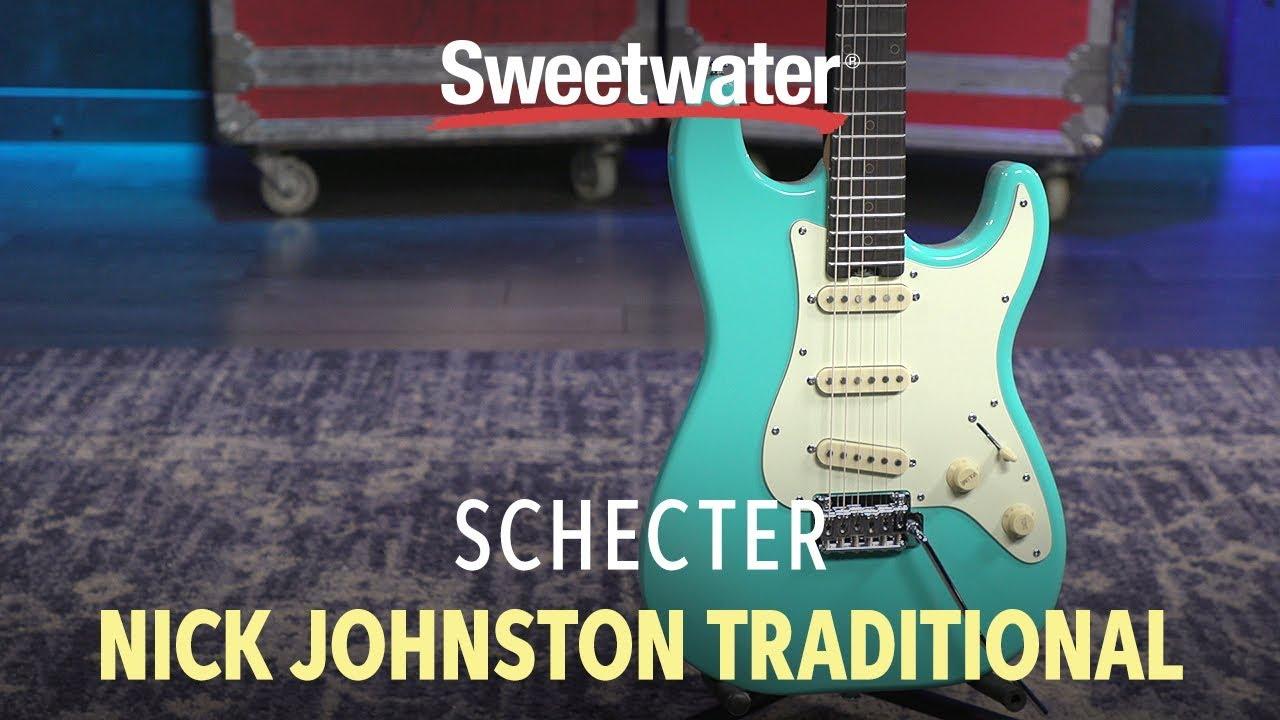 Schecter Nick Johnston Diamond Series Signature Guitar Demo | Sweetwater