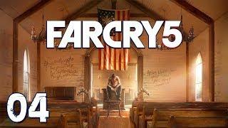 Far Cry 5 - Прохождение pt4 - Напарники: медведь Чизбургер и Хёрк