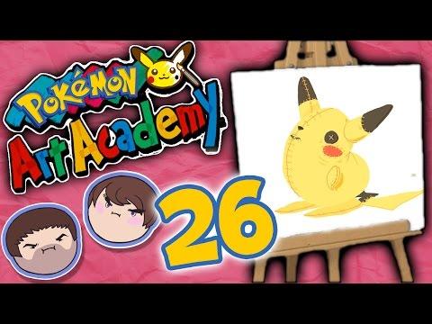 Pokemon Art Academy: Clouds of Fart - PART 26 - Grumpcade