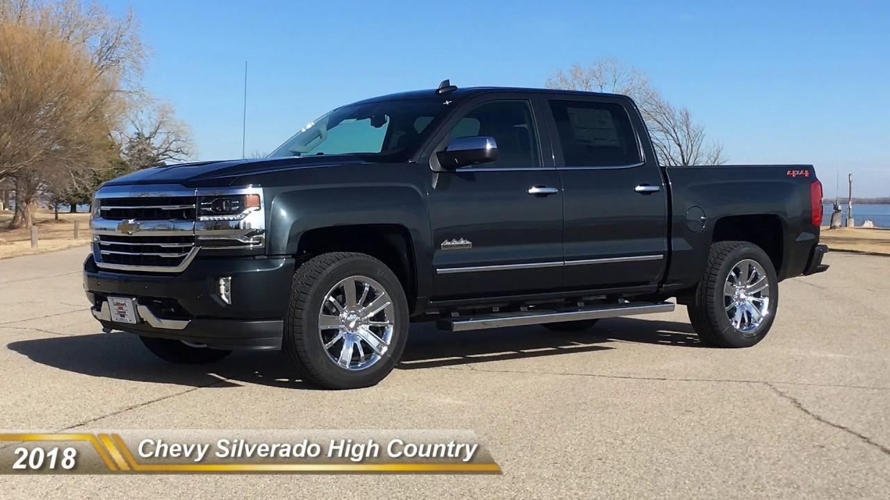 2018 Chevy Silverado High Country 4x4 Youtube