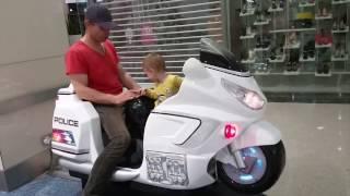 Ride on children