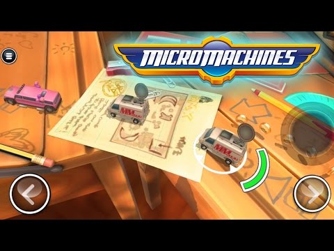 MICRO MACHINES | Ethan plays Mobile Games
