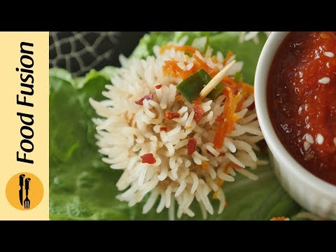 Momo Rice balls Recipe By Food Fusion
