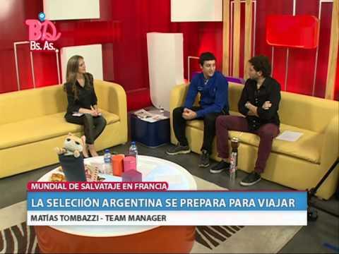 BUENOS DIAS BUENOS AIRES - LA SELECCIÓN SE PREPARA PARA VIAJAR - BLOQUE 2 (09.09.14)