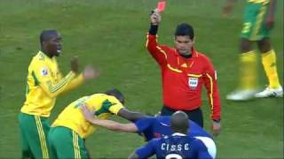 France vs South Africa Highlights June 22 2010 FIFA World Cup.flv