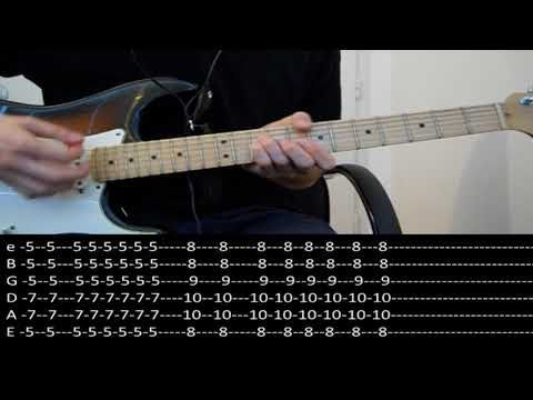 RHCP - She looks to me (lesson w/ tabs)