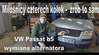 Volkswagen  passat b5  wymiana alternatora