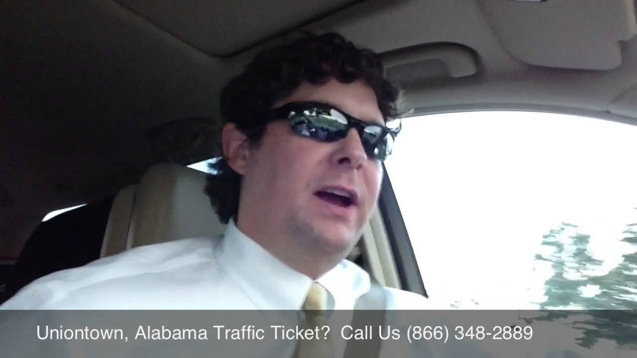 Uniontown, Alabama Traffic Attorney - Speeding Ticket ...