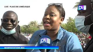 Place de l'Obélisque: L'appel du ministre Néné Fatoumata Tall à la jeunesse